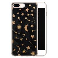 Casimoda iPhone 8 Plus/7 Plus siliconen hoesje - Counting the stars
