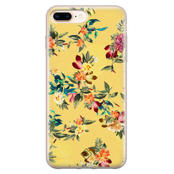 Casimoda iPhone 8 Plus/7 Plus siliconen hoesje - Floral days