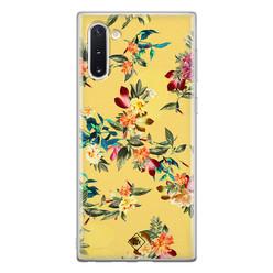 Casimoda Samsung Galaxy Note 10 siliconen hoesje - Floral days