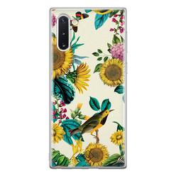 Casimoda Samsung Galaxy Note 10 siliconen hoesje - Sunflowers
