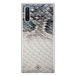 Casimoda Samsung Galaxy Note 10 siliconen hoesje - Oh my snake