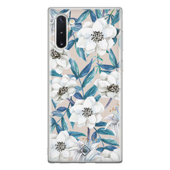 Casimoda Samsung Galaxy Note 10 siliconen hoesje - Touch of flowers