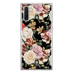 Casimoda Samsung Galaxy Note 10 siliconen hoesje - Flowerpower