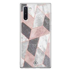 Casimoda Samsung Galaxy Note 10 siliconen hoesje - Stone grid