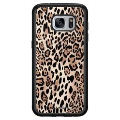 Casimoda Samsung Galaxy S7 hoesje - Golden wildcat