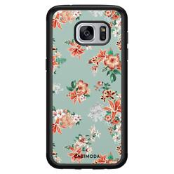 Casimoda Samsung Galaxy S7 hoesje - Lovely flowers