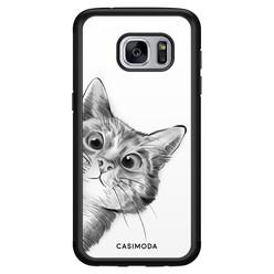 Casimoda Samsung Galaxy S7 hoesje - Peekaboo