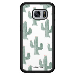Casimoda Samsung Galaxy S7 hoesje - Cactus print