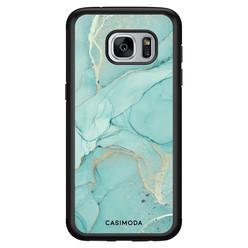 Casimoda Samsung Galaxy S7 hoesje - Touch of mint
