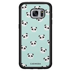 Casimoda Samsung Galaxy S7 hoesje - Panda print