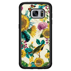 Casimoda Samsung Galaxy S7 hoesje - Sunflowers