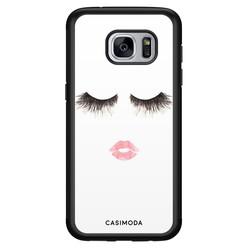 Casimoda Samsung Galaxy S7 hoesje - Kiss wink