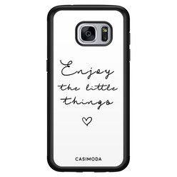 Casimoda Samsung Galaxy S7 hoesje - Enjoy life