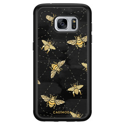 Casimoda Samsung Galaxy S7 hoesje - Bee yourself