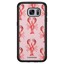 Casimoda Samsung Galaxy S7 hoesje - Lobster all the way