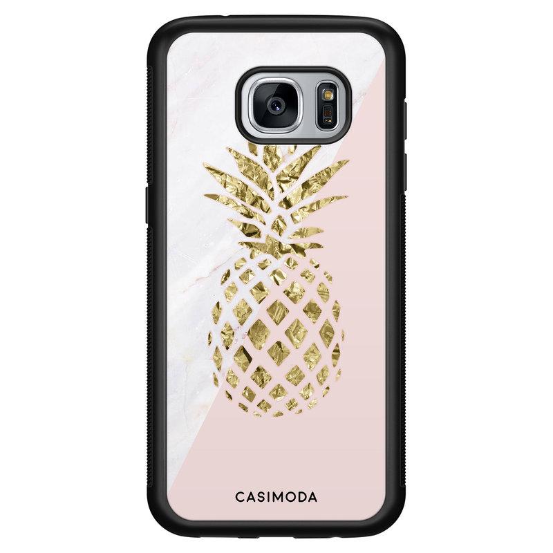 Casimoda Samsung Galaxy S7 hoesje - Ananas
