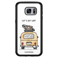 Casimoda Samsung Galaxy S7 hoesje - Let's get lost