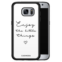 Casimoda Samsung Galaxy S7 hoesje - Enjoy life