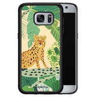 Casimoda Samsung Galaxy S7 hoesje - Jungle luipaard