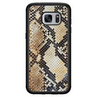 Casimoda Samsung Galaxy S7 hoesje - Golden snake