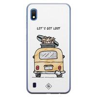 Casimoda Samsung Galaxy A10 siliconen hoesje - Let's get lost