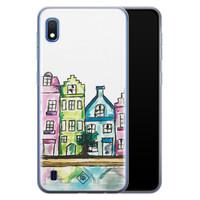 Casimoda Samsung Galaxy A10 siliconen telefoonhoesje - Amsterdam