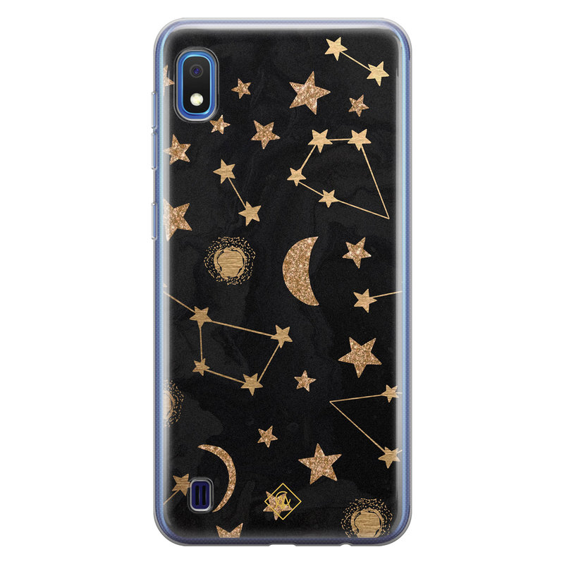 Casimoda Samsung Galaxy A10 siliconen hoesje - Counting the stars