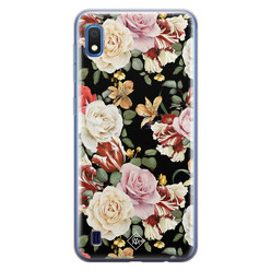 Casimoda Samsung Galaxy A10 siliconen hoesje - Flowerpower