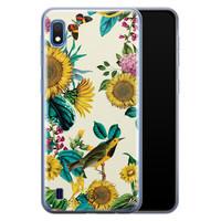 Casimoda Samsung Galaxy A10 siliconen hoesje - Sunflowers