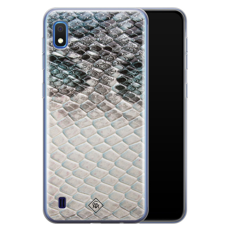Casimoda Samsung Galaxy A10 siliconen hoesje - Oh my snake