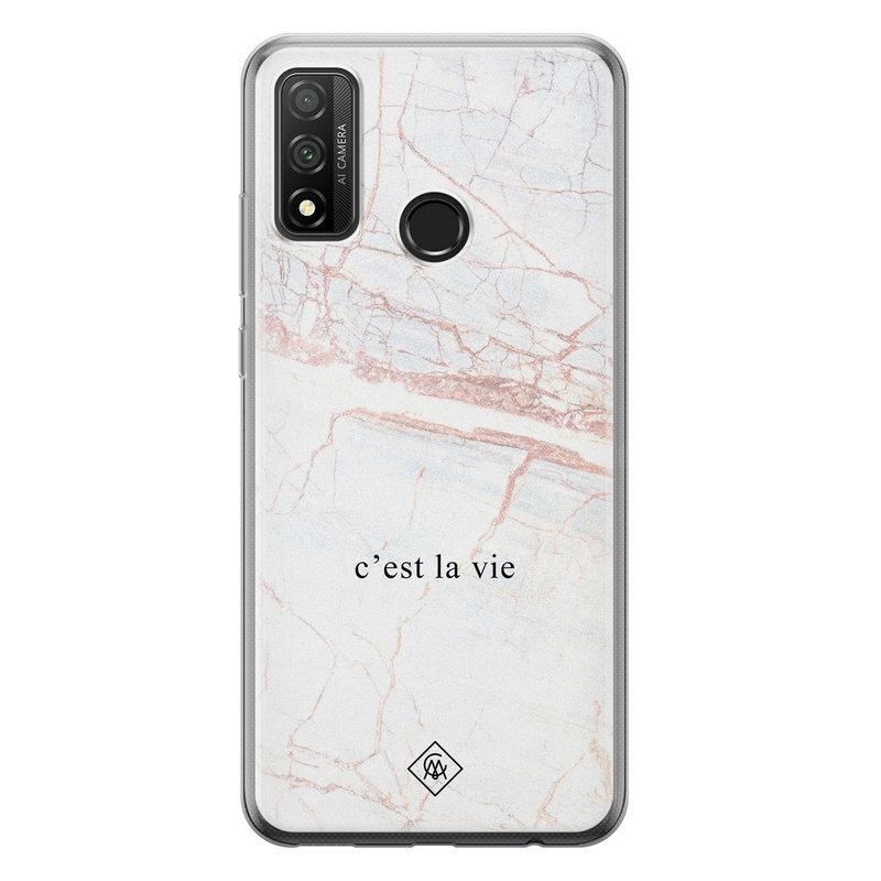 Casimoda Huawei P Smart 2020 siliconen telefoonhoesje - C'est la vie