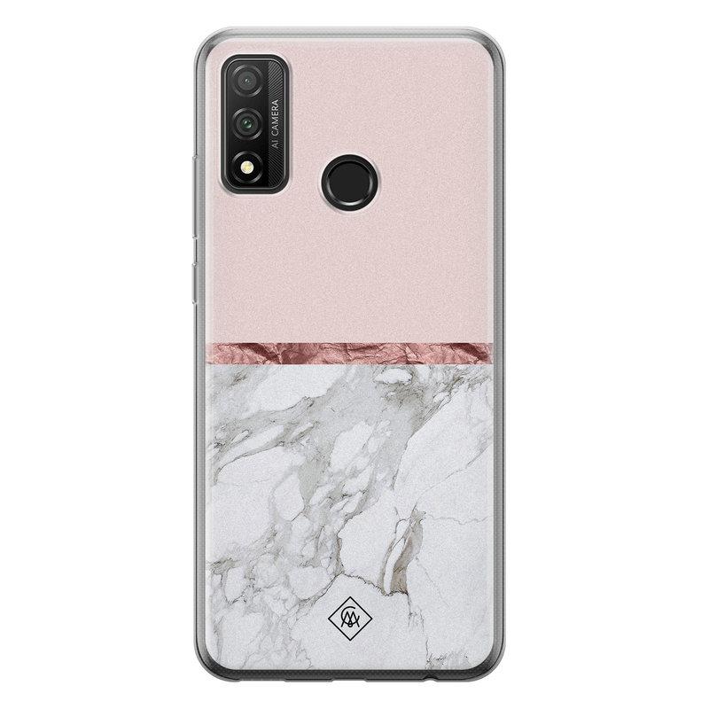 Casimoda Huawei P Smart 2020 siliconen telefoonhoesje - Rose all day