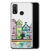 Casimoda Huawei P Smart 2020 siliconen telefoonhoesje - Amsterdam