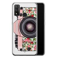 Casimoda Huawei P Smart 2020 siliconen telefoonhoesje - Hippie camera