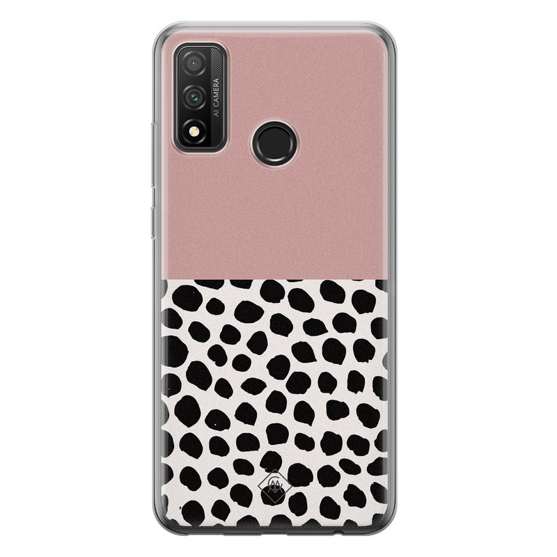 Casimoda Huawei P Smart 2020 siliconen hoesje - Pink dots