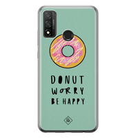 Casimoda Huawei P Smart 2020 siliconen hoesje - Donut worry