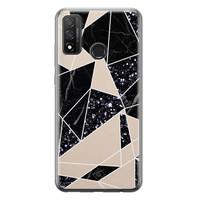 Casimoda Huawei P Smart 2020 siliconen telefoonhoesje - Abstract painted