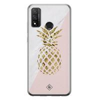 Casimoda Huawei P Smart 2020 siliconen hoesje - Ananas