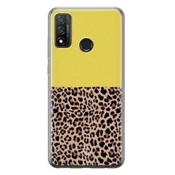 Casimoda Huawei P Smart 2020 siliconen hoesje - Luipaard geel