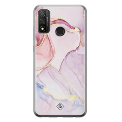 Casimoda Huawei P Smart 2020 siliconen hoesje - Purple sky