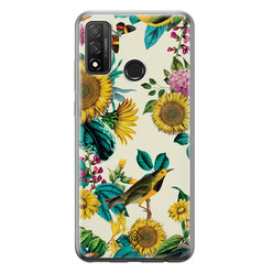 Casimoda Huawei P Smart 2020 siliconen hoesje - Sunflowers