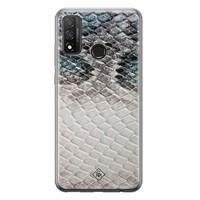 Casimoda Huawei P Smart 2020 siliconen hoesje - Oh my snake