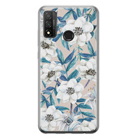 Casimoda Huawei P Smart 2020 siliconen telefoonhoesje - Touch of flowers
