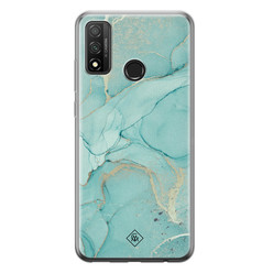 Casimoda Huawei P Smart 2020 siliconen hoesje - Touch of mint