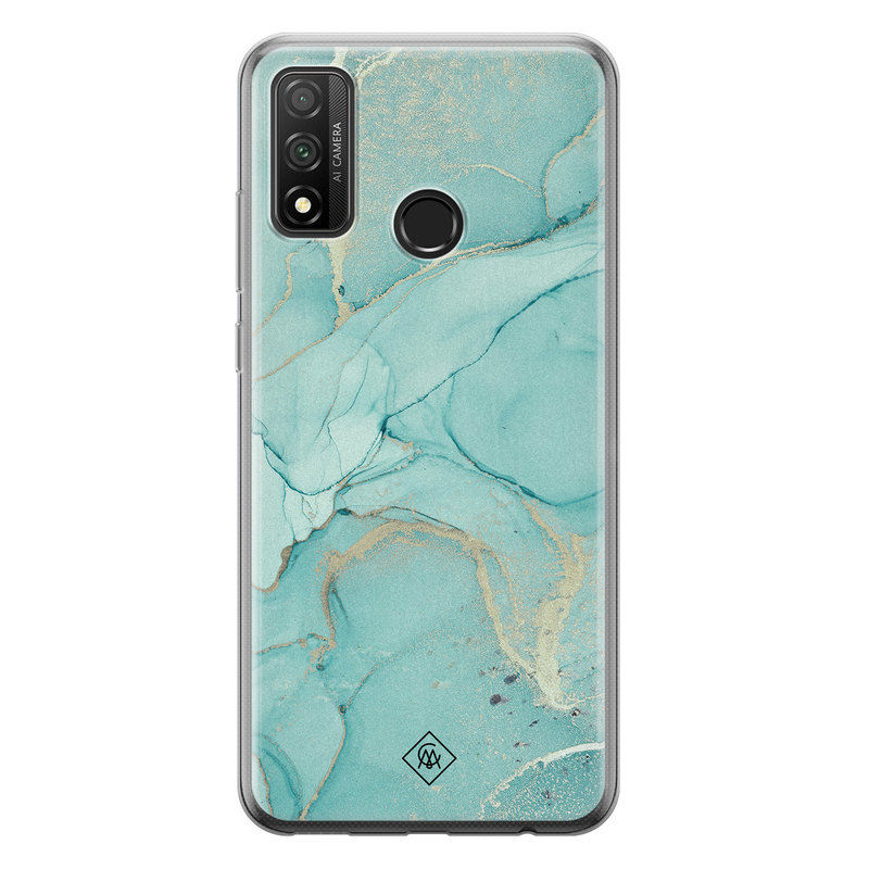 Casimoda Huawei P Smart 2020 siliconen hoesje - Touch of mint