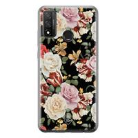 Casimoda Huawei P Smart 2020 siliconen hoesje - Flowerpower