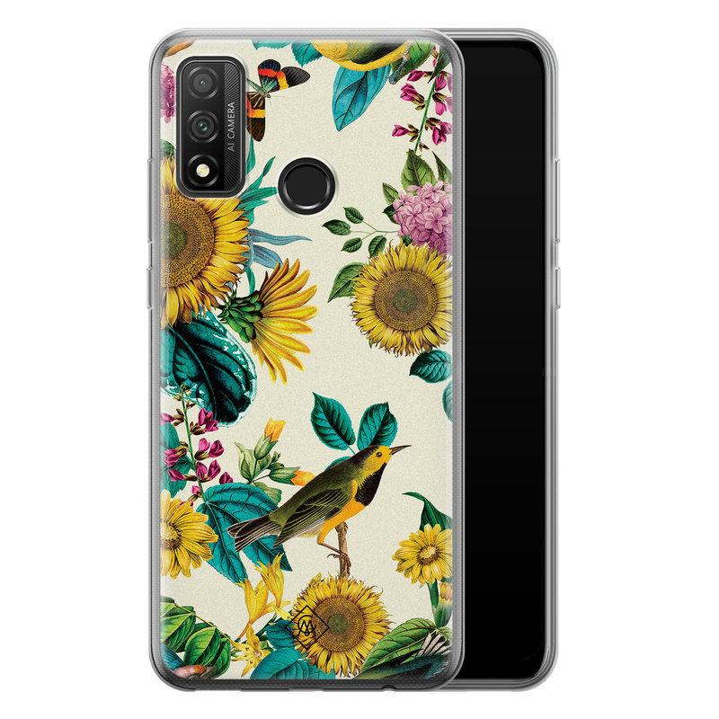 Casimoda Huawei P Smart 2020 siliconen hoesje - Sunflowers