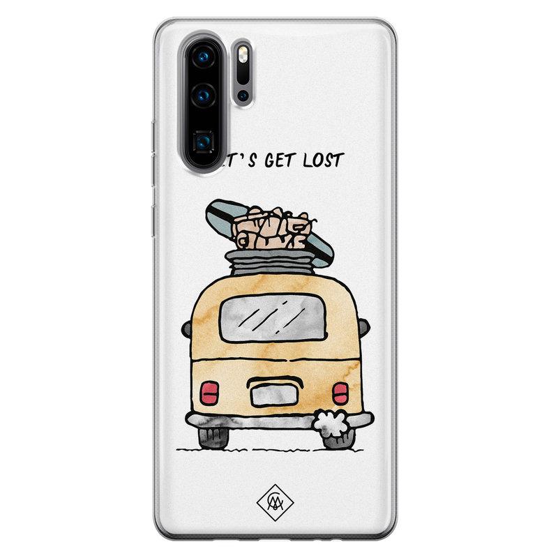 Casimoda Huawei P30 Pro siliconen hoesje - Let's get lost
