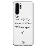 Casimoda Huawei P30 Pro siliconen hoesje - Enjoy life