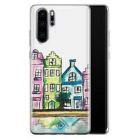Casimoda Huawei P30 Pro siliconen telefoonhoesje - Amsterdam